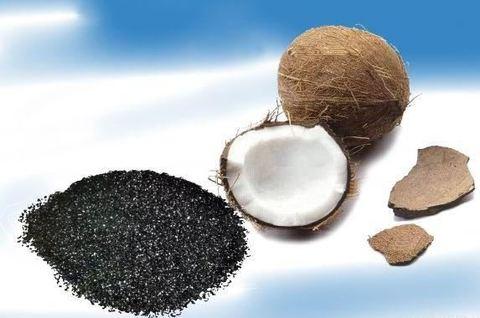 Активированный гранулированный кокосовый уголь (607С) 1 кг