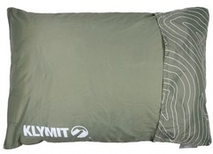 Подушка надувная Klymit Drift Camp Pillow Large зеленая 12DRGR01D