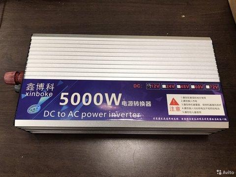 Инвертор Ardax 12-220v 5000вт преобразователь