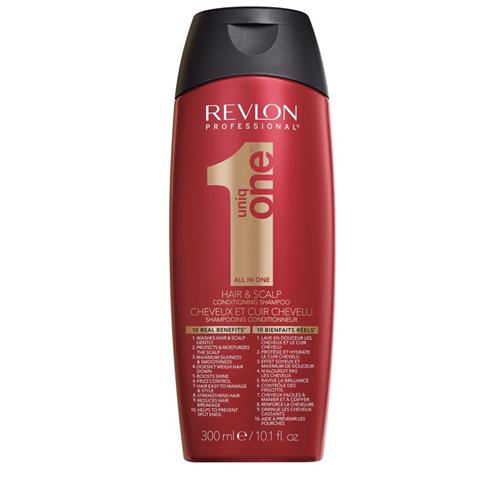 REVLON Uniq One: Шампунь-кондиционер для волос (Uniq One Conditioning Shampoo), 300мл/1л
