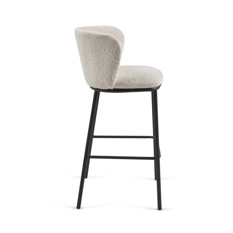 Барный стул Ciselia белый - вид 2