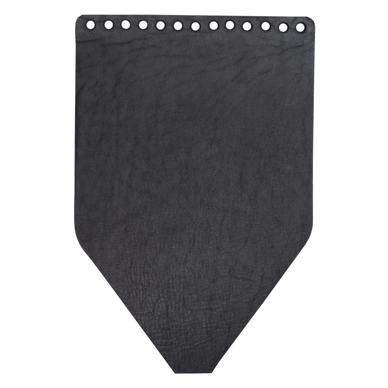 Кожаная фурнитура Клапан для рюкзачка кожаный черный матовый IMG_9311.jpg