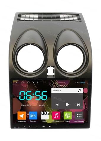 Магнитола для Nissan Qashqai (2007-2013) Android 10 4/64GB IPS DSP модель CB2019T9