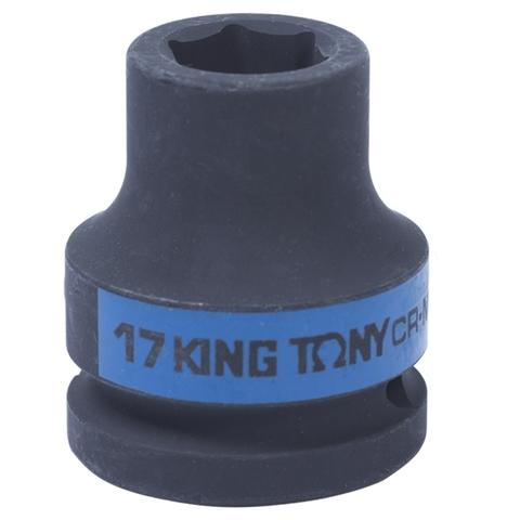 KING TONY (653517M) Головка торцевая ударная шестигранная 3/4