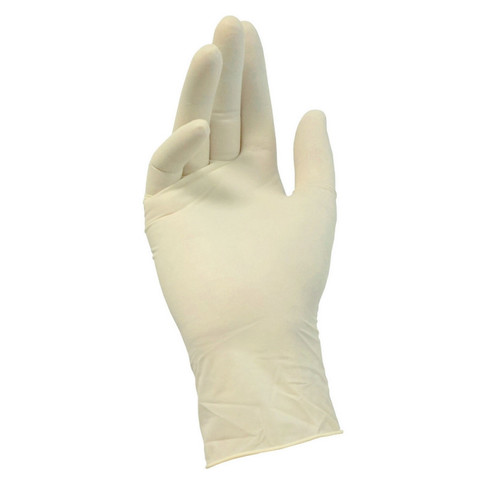Мед.смотров. перчатки латекс, н/о, н/с, текстурные DeMAX (L) 50 пар/упак
