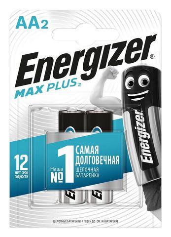 Батарейки Energizer MAX PLUS LR6/E91 AA 1.5V - 2 шт.