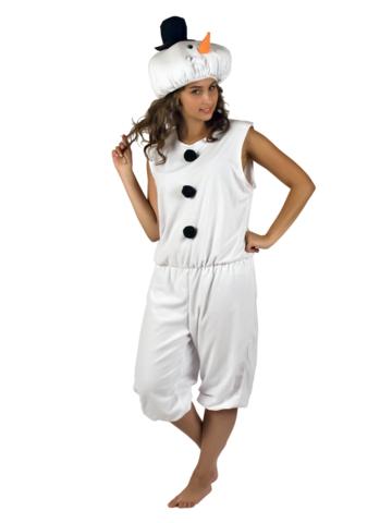 Новогодний костюм Снеговик 1