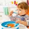 """Набор детской посуды """"Улыбка"""" (тарелка на присоске и ложка) 9+"""