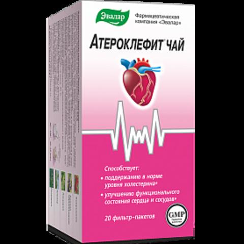 Атероклефит чай 20 ф/п
