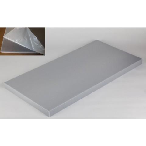 негорючая  акустическая панель ECHOTON FIREPROOF 100x50x5cm   серый  с адгезивным слоем
