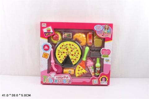 Набор продуктов с пиццей (в коробке), 7637-4