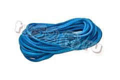 Синтетический трос 12мм (синий, нагрузка - 12 500 кгс.) Цена за метр троса.