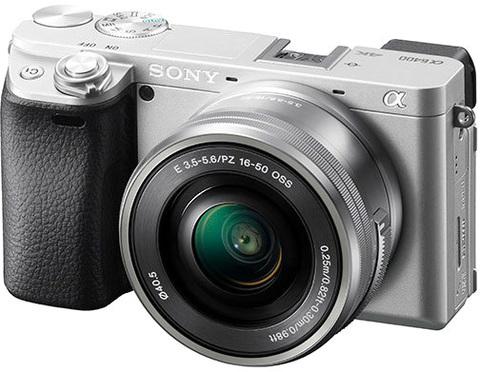 ILCE-6400LS фотоаппарат Sony Alpha A6400 Kit 16-50, серебристый (витринный образец)