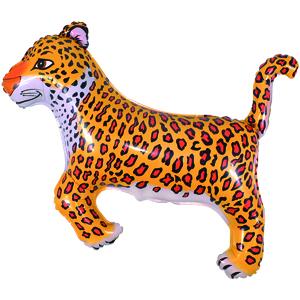 Фольгированный шар Леопард 74 X 103см