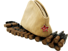 Пилотка военная взрослая (женская) (56 р.)  ГУ-6888
