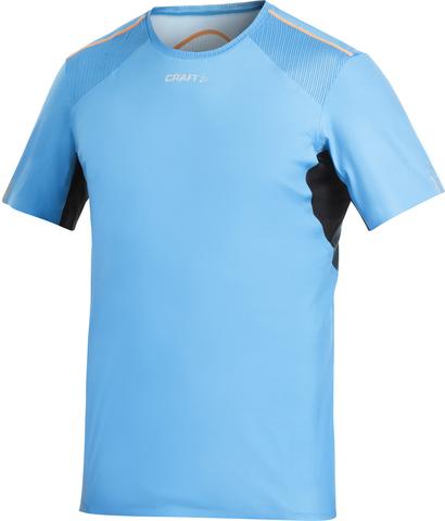 Футболка Craft ER V-Neck мужская голубая