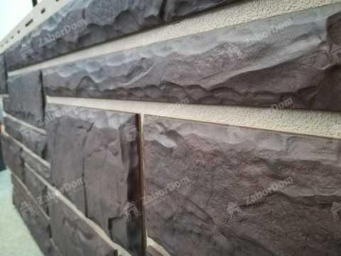 Фасадная панель Альта Профиль Камень Жженый 1140х480 мм