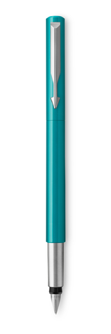 Перьевая ручка Parker Vector Standard F01, цвет:  BLUE GREEN