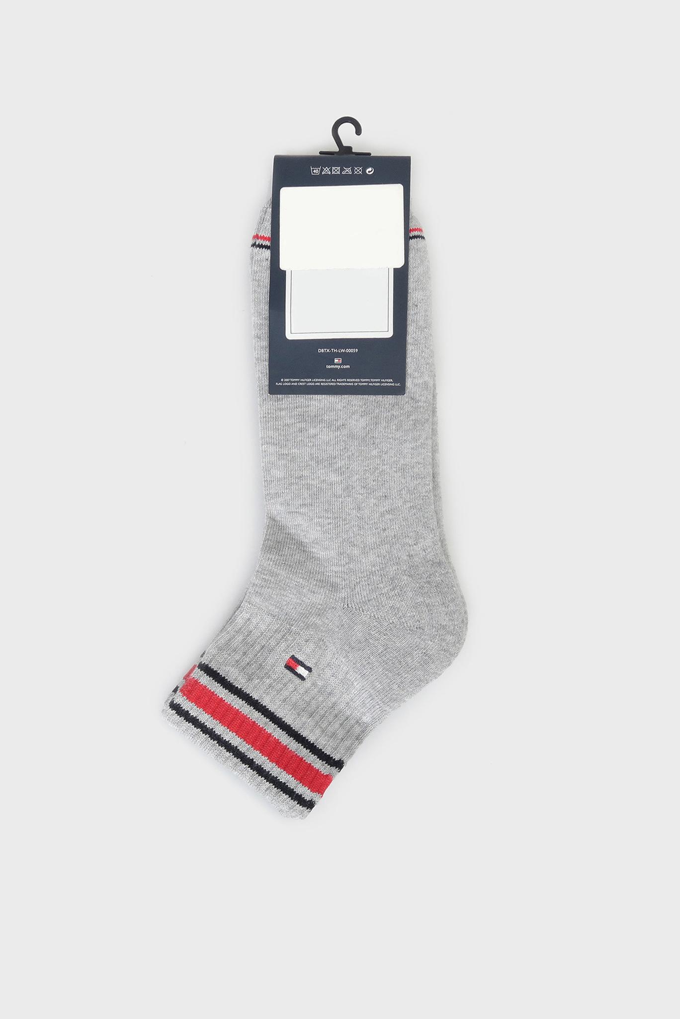 Мужские серые носки ICONIC SPORTS (2 пары) Tommy Hilfiger