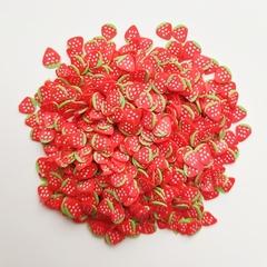 Набор посыпок для слайма фимо фрукты 10 шт XL супермикс