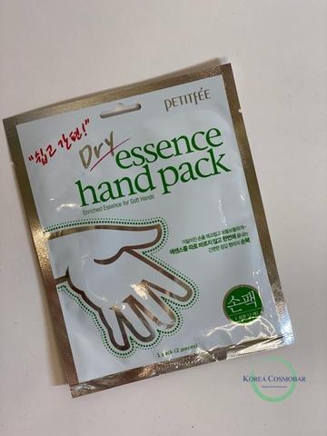 Petitfee Маска для рук питательная - Dry essence hand pack, 15г(1пара)