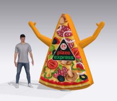 Пицца зазывала