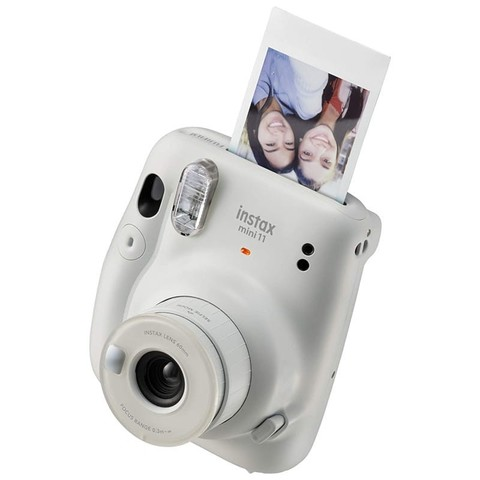 Fotoaparat \ Фотоаппарат Fujifilm Instax Mini 11 White, размер 107,6 × 121,2 × 67,3 мм