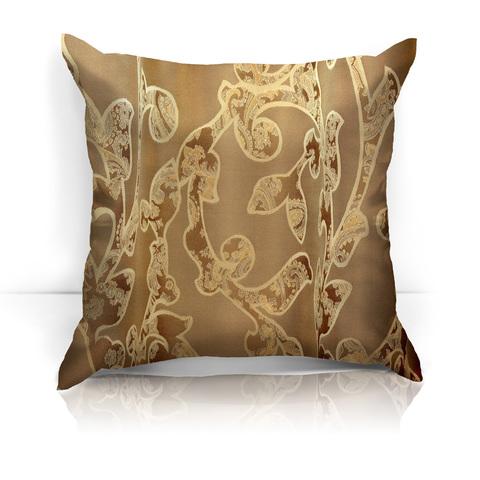 Подушка декоративная Помпео коричневый