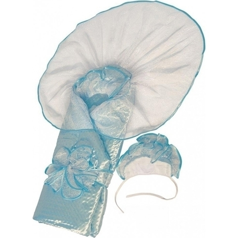 Демисезонное одеяло-конверт на выписку Топотушки Сашенька , 2 предмета