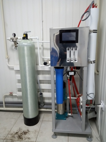 водоподготовка 20 000 литров в сутки