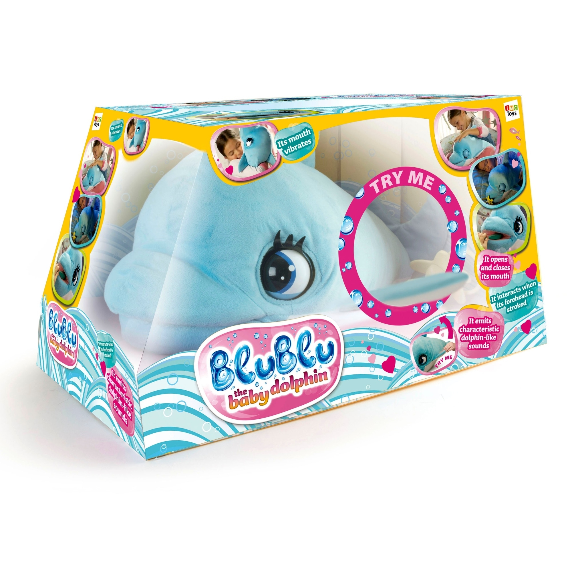 Интерактивная игрушка Дельфин Blu Blu