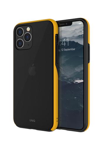 Чехол Uniq Vesto для iPhone 11 Pro | желтый противоударные борты