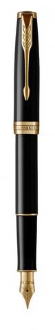 Перьевая ручка Parker Sonnet Black Lacquer F123