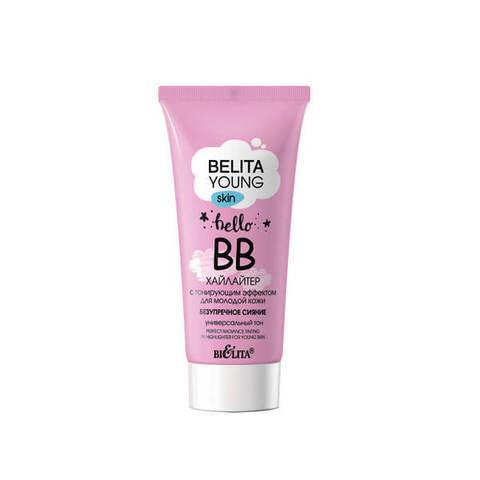 ВВ-хайлайтер с тонирующим эффектом для молодой кожи «Безупречное сияние» , 30 мл ( Belita Young Skin )