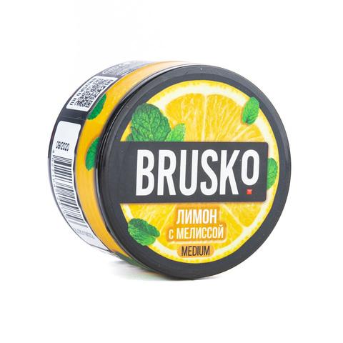 Кальянная смесь BRUSKO 50 г Лимон с Мелиссой