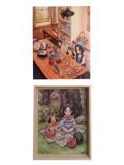 Развивающий пазл SHAPES PUZZLE Aeppol Иллюстрации 4 картинки 114 элементов в деревянной коробке