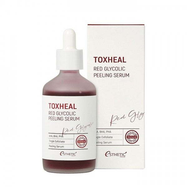 Esthetic House Toxheal Red Glycolic Peeling Serum