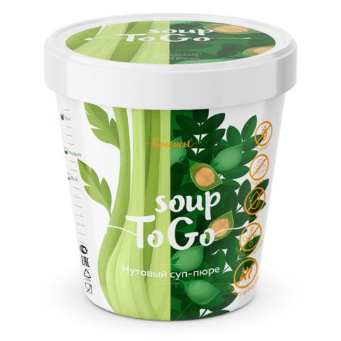 Суп-пюре Нутовый с сельдереем, стакан, 30 гр. (Био Терра)