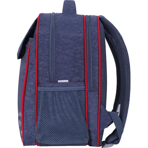 Рюкзак школьный Bagland Отличник 20 л. 321 серый 902 (0058070)