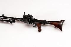 Miniature machine gun MG34
