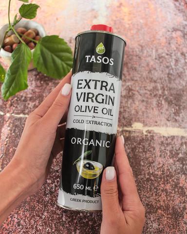Масло Оливковое EXTRA VIRGIN Organic, 650мл (Греция)