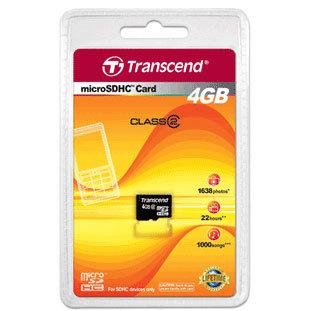 Карта памяти microSD 4 Гб