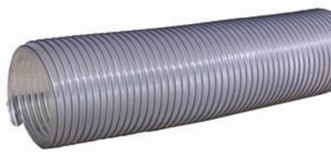Воздуховод Tex PVC 500, D140 мм (1 метр) из ПВХ (поливинилхлорида)