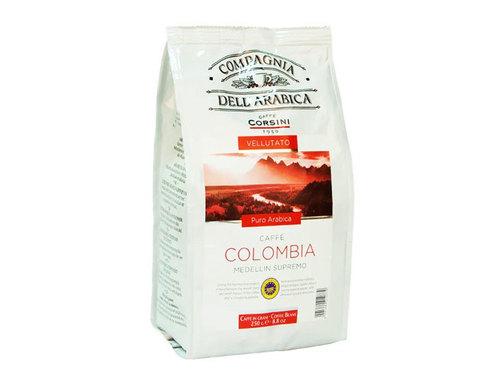 купить Кофе в зернах Compagnia Dell`Arabica Colombia Medellin Supremo, 250 г