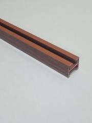 Верхняя направляющая для двери-гармошка, длина 260 см, цвет Вишня