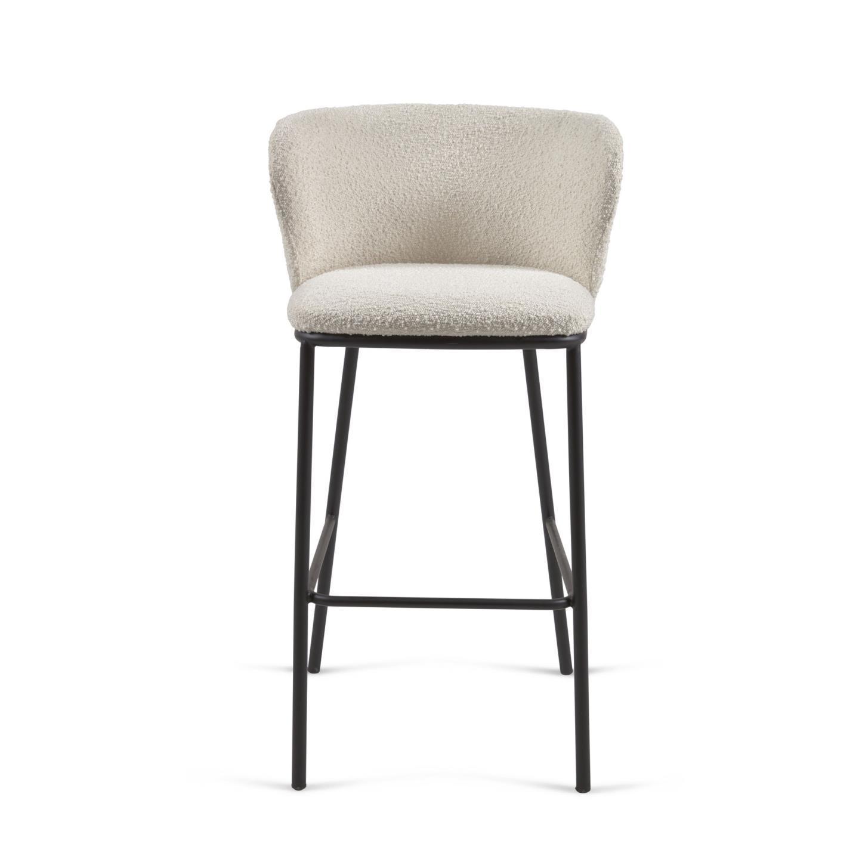 Барный стул Ciselia белый - вид 4