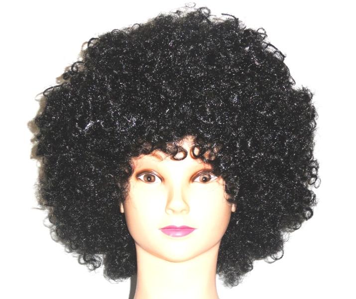 парик афро черный