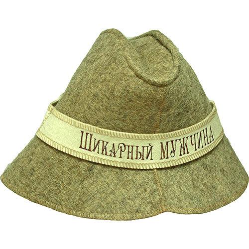 Шляпа Шикарный мужчина для сауны