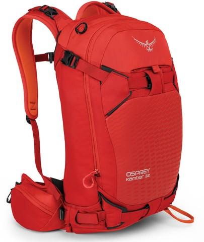 Картинка рюкзак горнолыжный Osprey Kamber 32 Ripcord Red - 1