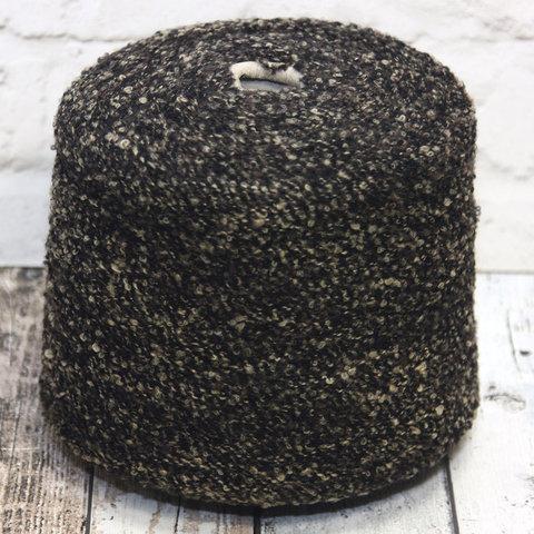 Букле шерсть IGEA / PONCHO 320 бежево-коричневый